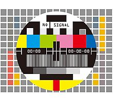 No Signal No signal No signal Photographic Print
