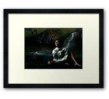 The Human Abstract Framed Print