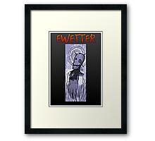 EWETTER COVER DESIGN Framed Print