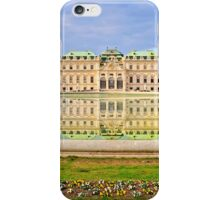 Imperial Austria - Reflection of the Belvedere in Spring iPhone Case/Skin