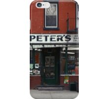 Peter's Bodega in the Lower East Side - Kodachrome Postcards  iPhone Case/Skin