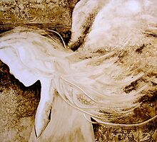 EN895 Angel Painting by ReneaL