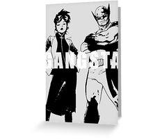 GANGSTA X-MEN (JUBILEE & WOLVERINE) Threshold  Greeting Card