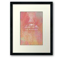 The Wanderer Framed Print