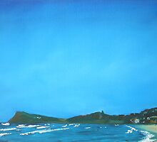 Lennox Head - oil on canvas by ChristineBetts