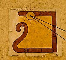 Sun-dial by GOSIA GRZYBEK