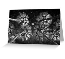 Elevated Paradise ~ Moon Shade Greeting Card