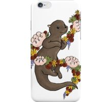 Floral Otter iPhone Case/Skin