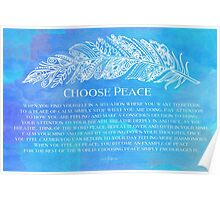 Choose Peace Poster