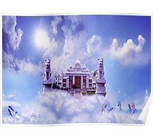 Palace and sky  Poster