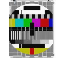 No signal TV Screen iPad Case/Skin