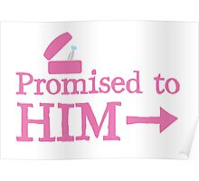Promised to him with silver ring  Poster
