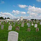 Amish graveyard by LittleBird