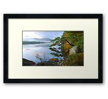 Tranquility of the Scottish Highlands Framed Print
