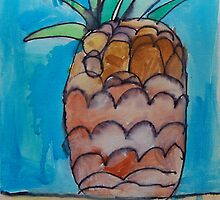 Pineapple by Zoe Thomas Age 7 by Julia  Thomas
