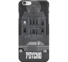 Psycho (1960) - Alfred Hitchcock Print iPhone Case/Skin