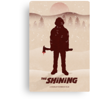 """A """"The Shining"""" Poster Print Canvas Print"""