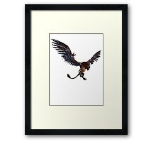 THE WITCHER 3 - WILD HUNT GRIFFIN  Framed Print