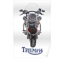 Triumph Thunderbird LT Red Poster