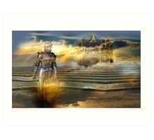 The guardian of the celestial palace Art Print