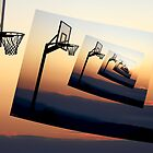 Basketball Hoop Silhouette by Phil Perkins
