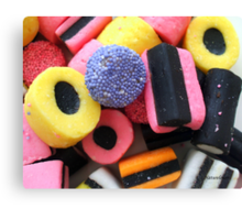 Liquorice Allsorts - You May Take One! Canvas Print