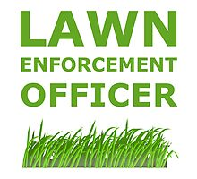 Lawn Officer Green by AmazingMart