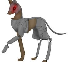 Robotic Wolf by JellyGraphed