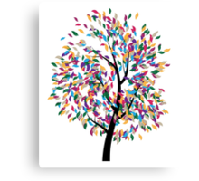 Colorful Tree 3 Canvas Print