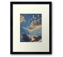 Sunset Clouds 2 Framed Print