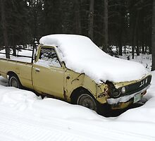 Old Datsun Truck, 1973 by MaeBelle