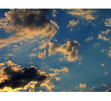 Sunset Clouds 3 Photographic Print