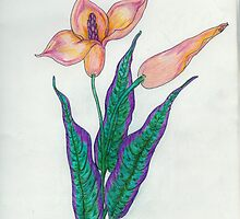 Botanical Print of Gesarina by Starshadow