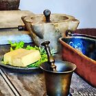 Two Mortar and Pestles in Kitchen by Susan Savad