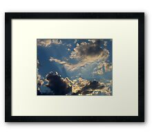 Sunset Clouds 5 Framed Print