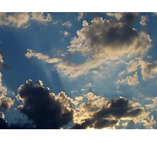 Sunset Clouds 5 Photographic Print