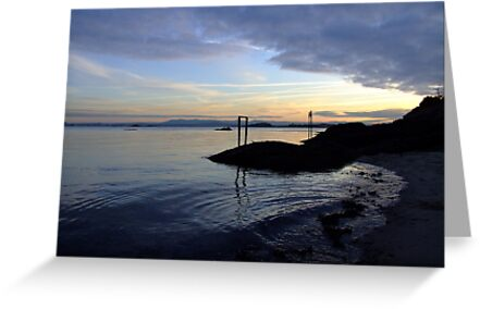 Aberdour Black Sands by Steve Hammond