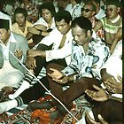 Mohammad Ali at Friday Prayer before boxing bout. by cjkuntze