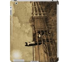 He was waiting by the fence at the crossroads of tomorrow and never iPad Case/Skin