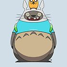 Finn Totoro by crabro