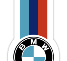 BMW Stripe Sticker