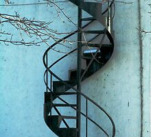 Spiral Staircase by djnoel