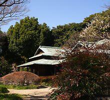 Imperial Palace - Suwa no chaya Tea House by Mark Bolton