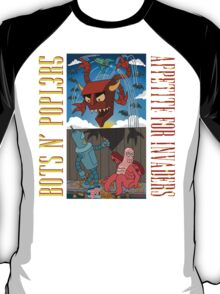 BOTS N' POPL3R5 T-Shirt