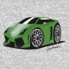 Lamborghini Gallardo LP560-4 by gary A. trounson
