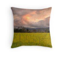 Napa Sunset Throw Pillow