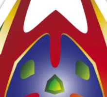 Alien Triangle Sticker