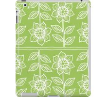 Pattern with sunflowers iPad Case/Skin