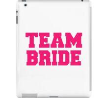 Team bride iPad Case/Skin