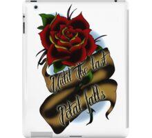 Beauty and the Beast Rose Tattoo iPad Case/Skin